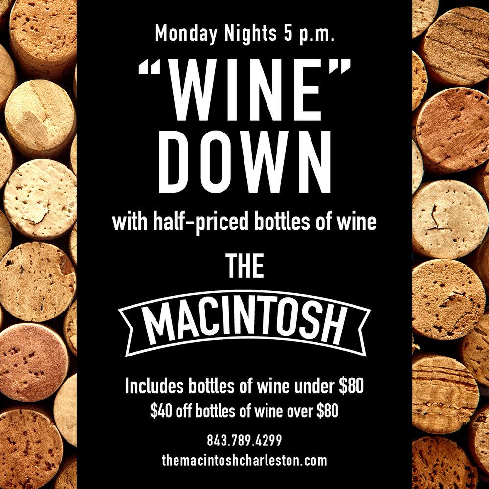 The Macintosh - Wine Night Graphic
