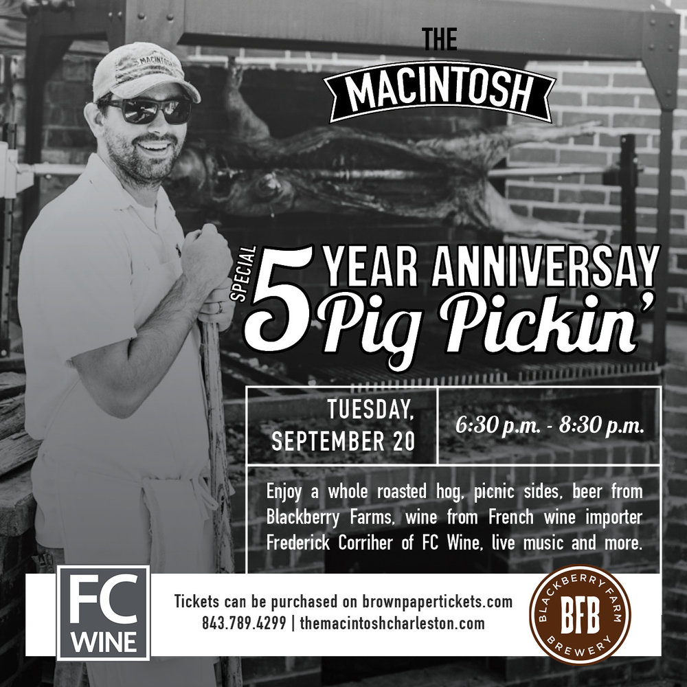The Macintosh - Pig Pickin' Graphic