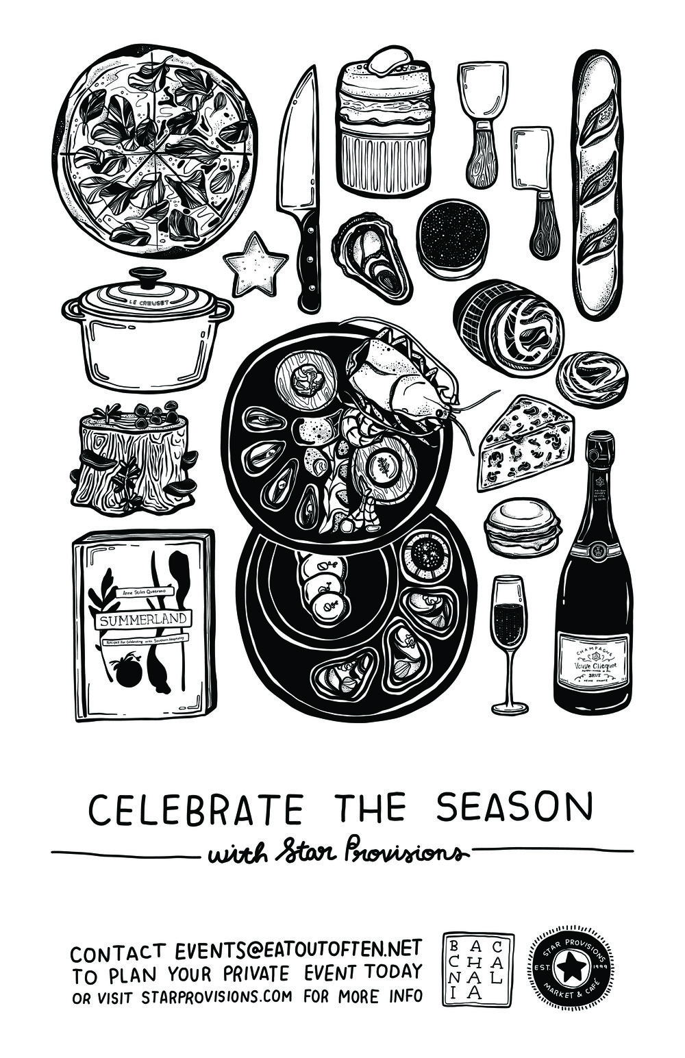 Star Provisions, poster