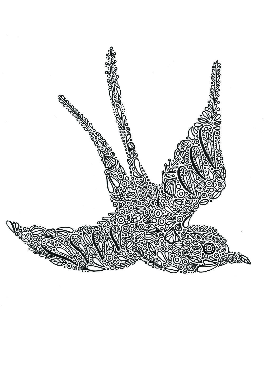 Treebird, bird