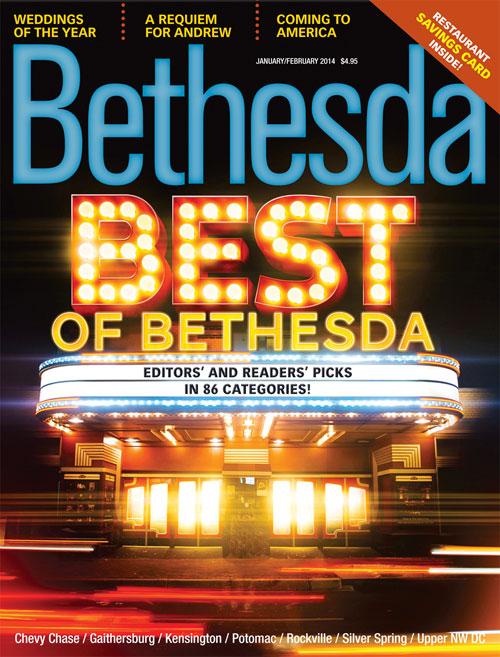 Bethesda Magazine Jan 2014 Cover