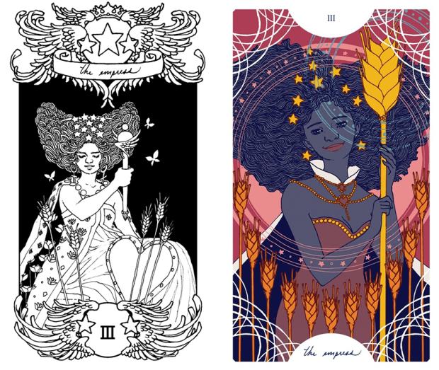 Trung-Nguyen-The-Empress-Tarot-Card