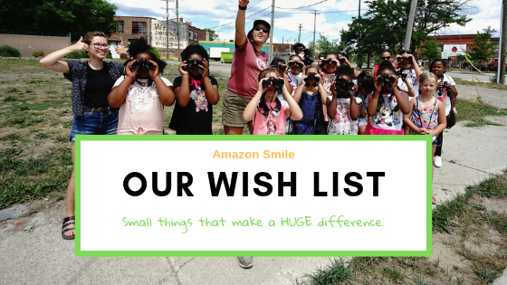 A unique way to donate to the work! Purchase items directly through AmazonSmile and they will be sent directly to our office!