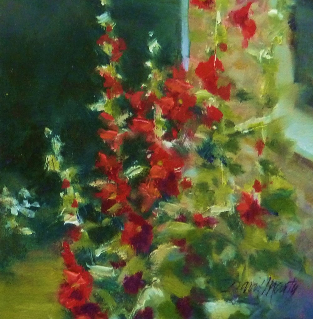 BAckyard Hollyhocks_6x6.JPG