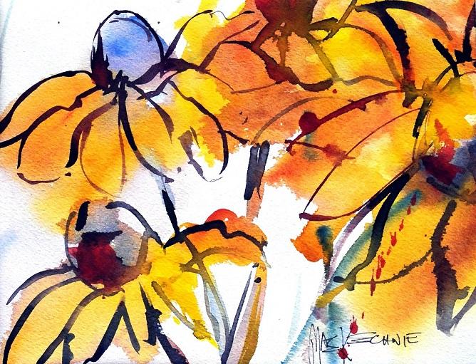 MacKechnie, Flowers, watercolor, 9x12_sm.jpg