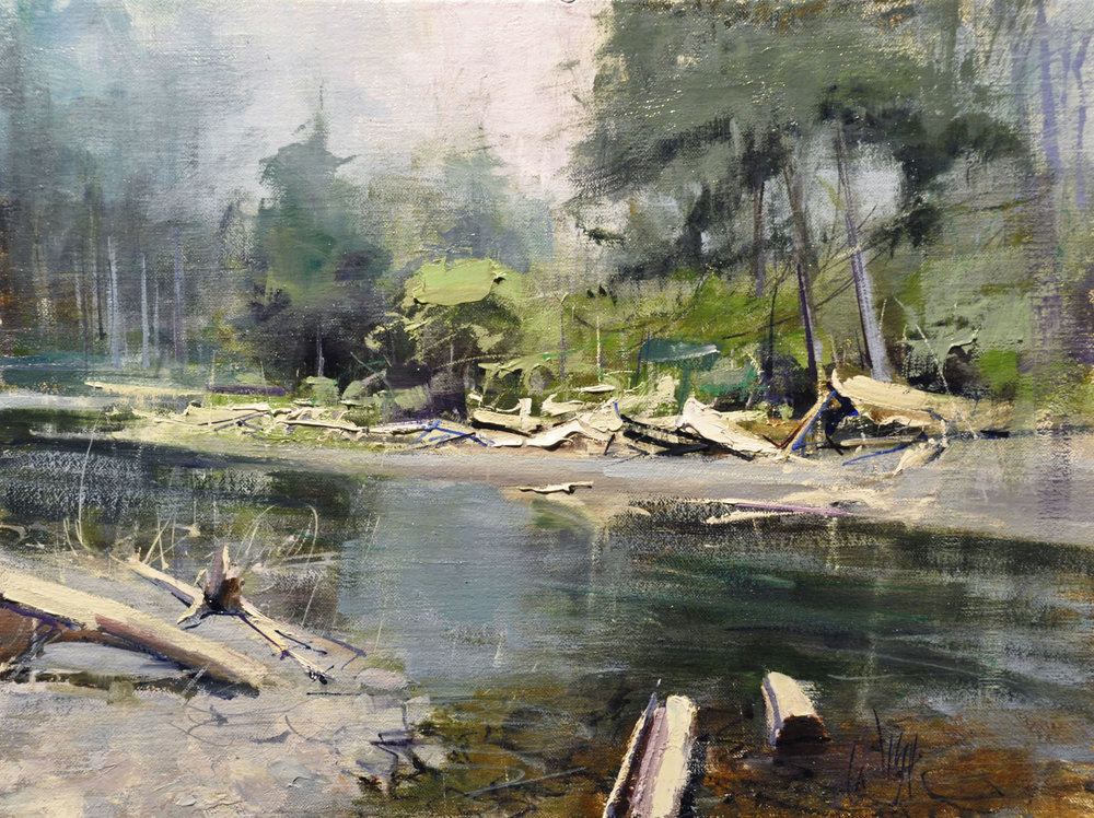 Mike Wise_North Woods Creek_12x16_1850.jpg