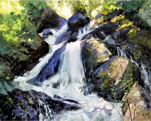 Mike Wise_Cascade Falls_24x30_4050.jpg