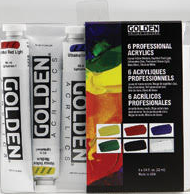 Art Supplies - Golden set of 6 acrylic paints.PNG