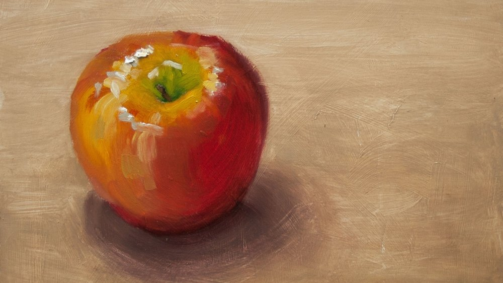 apple beginning oil.jpg