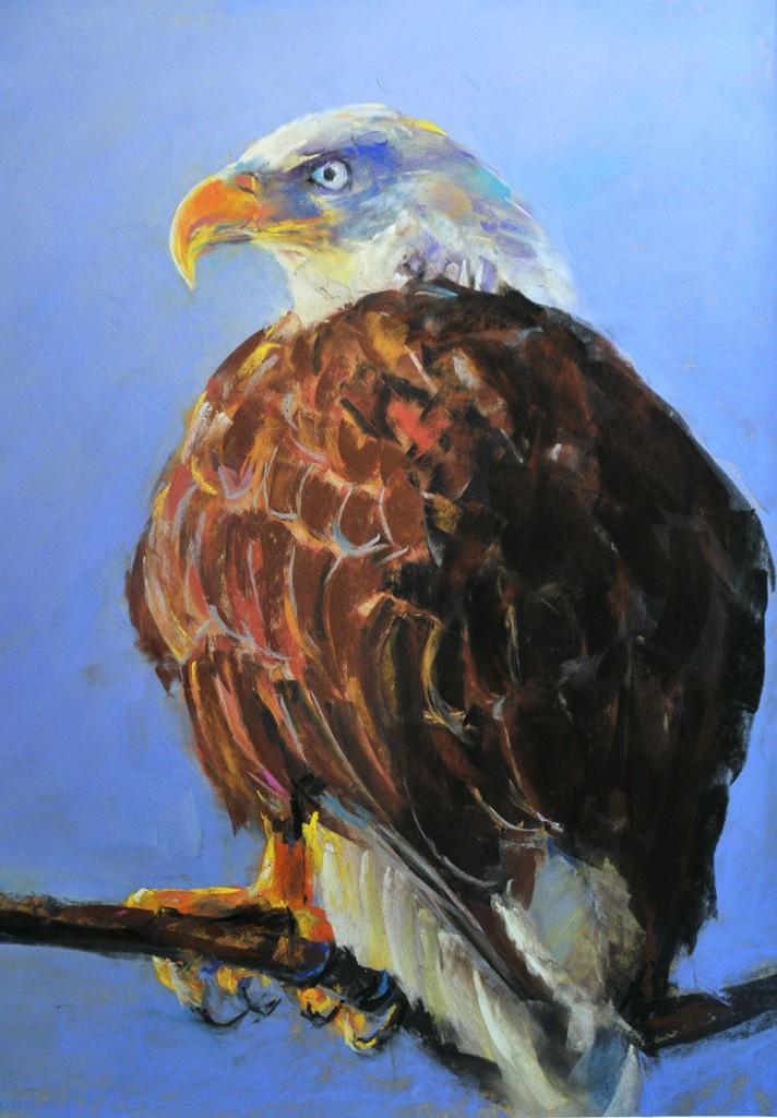 Pastel eagle.JPG