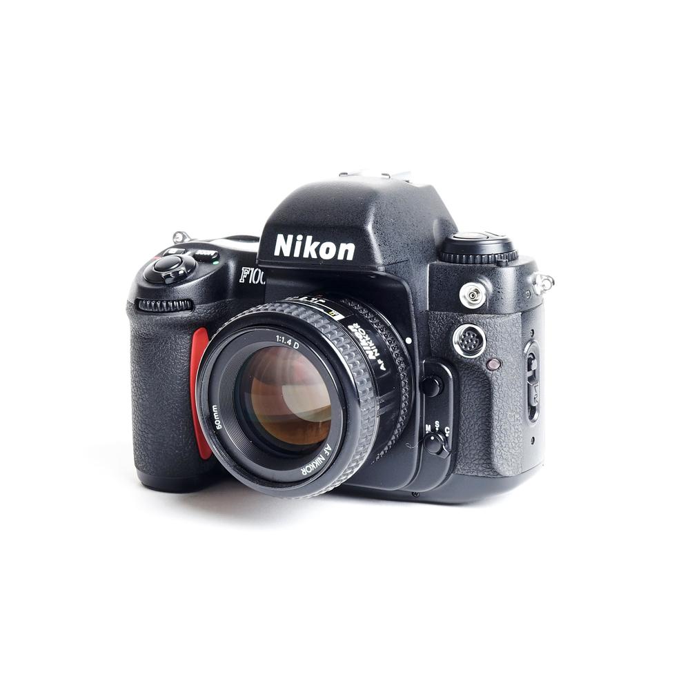 Nikon F100 W/ Nikon 50MM f/1.4