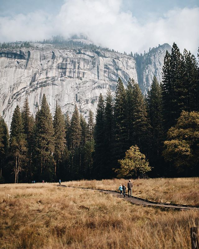 Valley life. @yosemitenps