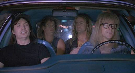 Wayne's World- Bohemian Rhapsody
