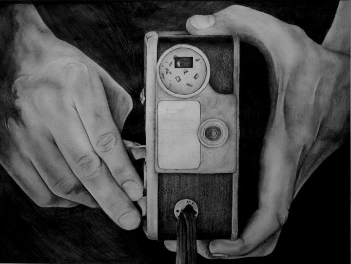 Manar Abdul- Rahman- Charcoal and compresed charcoal on paper. 20 x 16 inches.