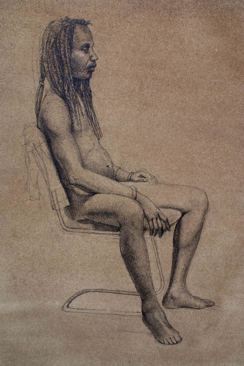 """Seated Male"""