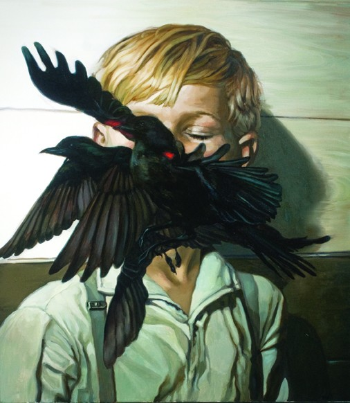 """""""Ennui"""" by Megan Howland. Print from Oil Painting, $120 through Tappan Collective."""