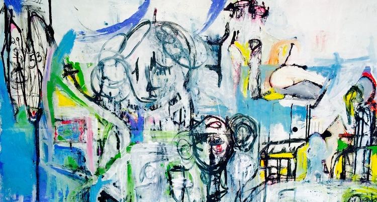 Maze by Sara Galkin. Shown in Abigail Ogilvy gallery.