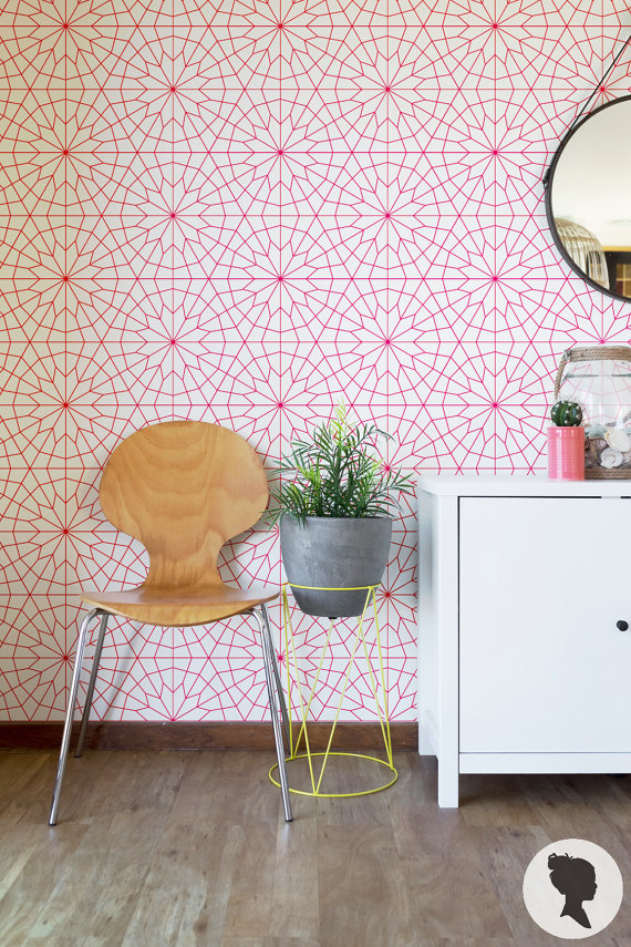 """Flower Pattern"" wallpaper by Livettes"