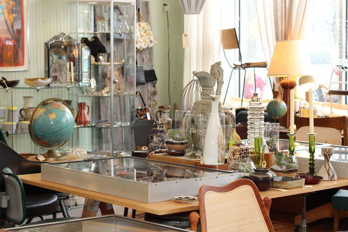 Mid-century modern furnishings at  ReNew Arts & Industry , Natick, MA