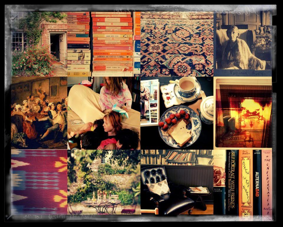 Photography provided by Lisa Borgnes Giramonti - A Collage of Some of Her Favorite Things