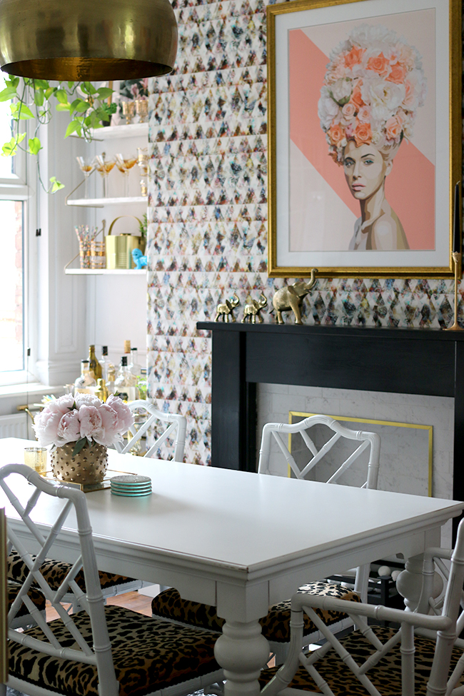 Photography provided by Swoonworthy - Dining Room