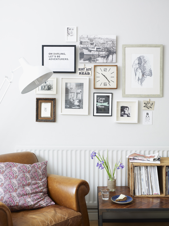 Image taken from Home for Now by Joanna Thornhill (CICO Books) - Living Room - Home of Hannah Ricci