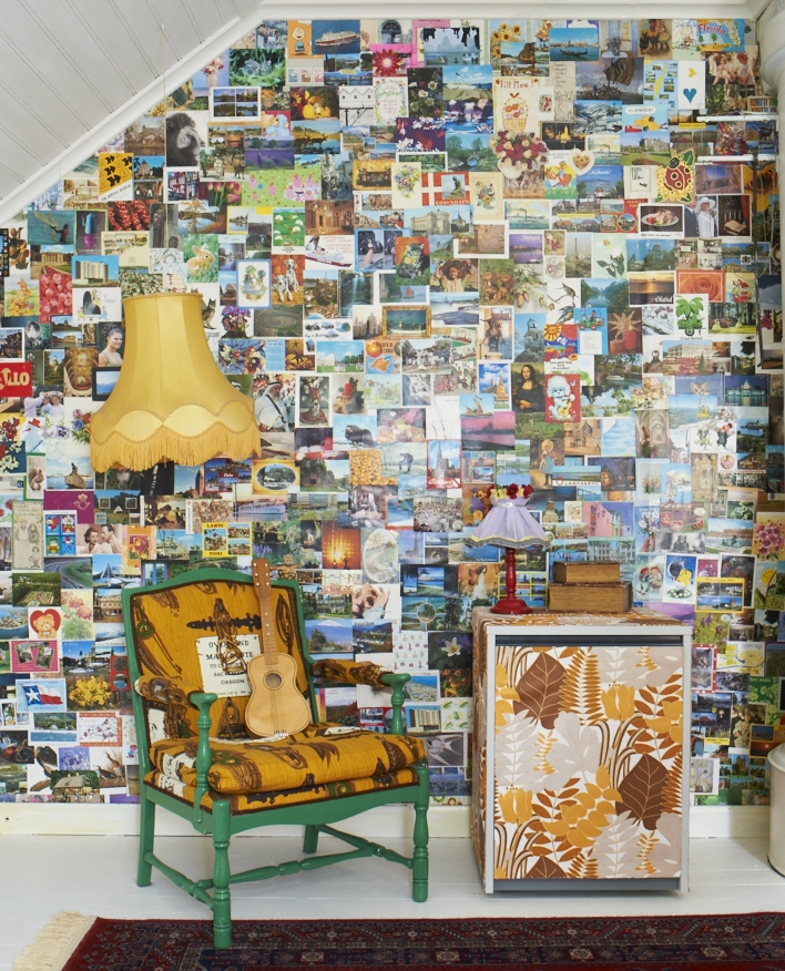 Image taken from Home for Now by Joanna Thornhill (CICO Books) - Postcard Wall
