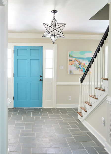 Images provided by Young House Love - Foyer