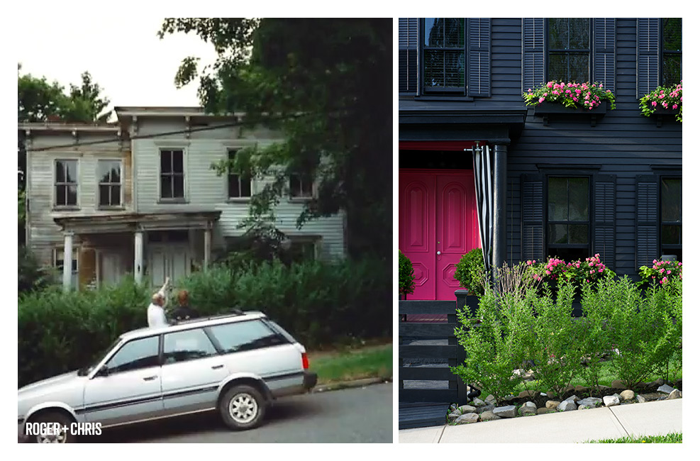 Photography provided by Roger + Chris : The Grey House Before & After