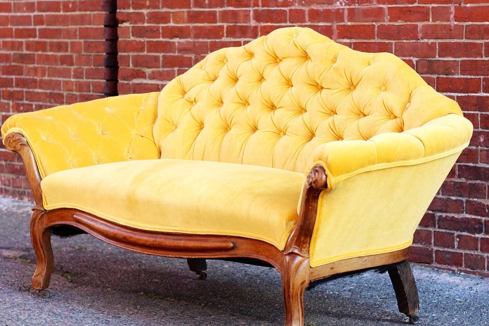 Little Yellow Couch