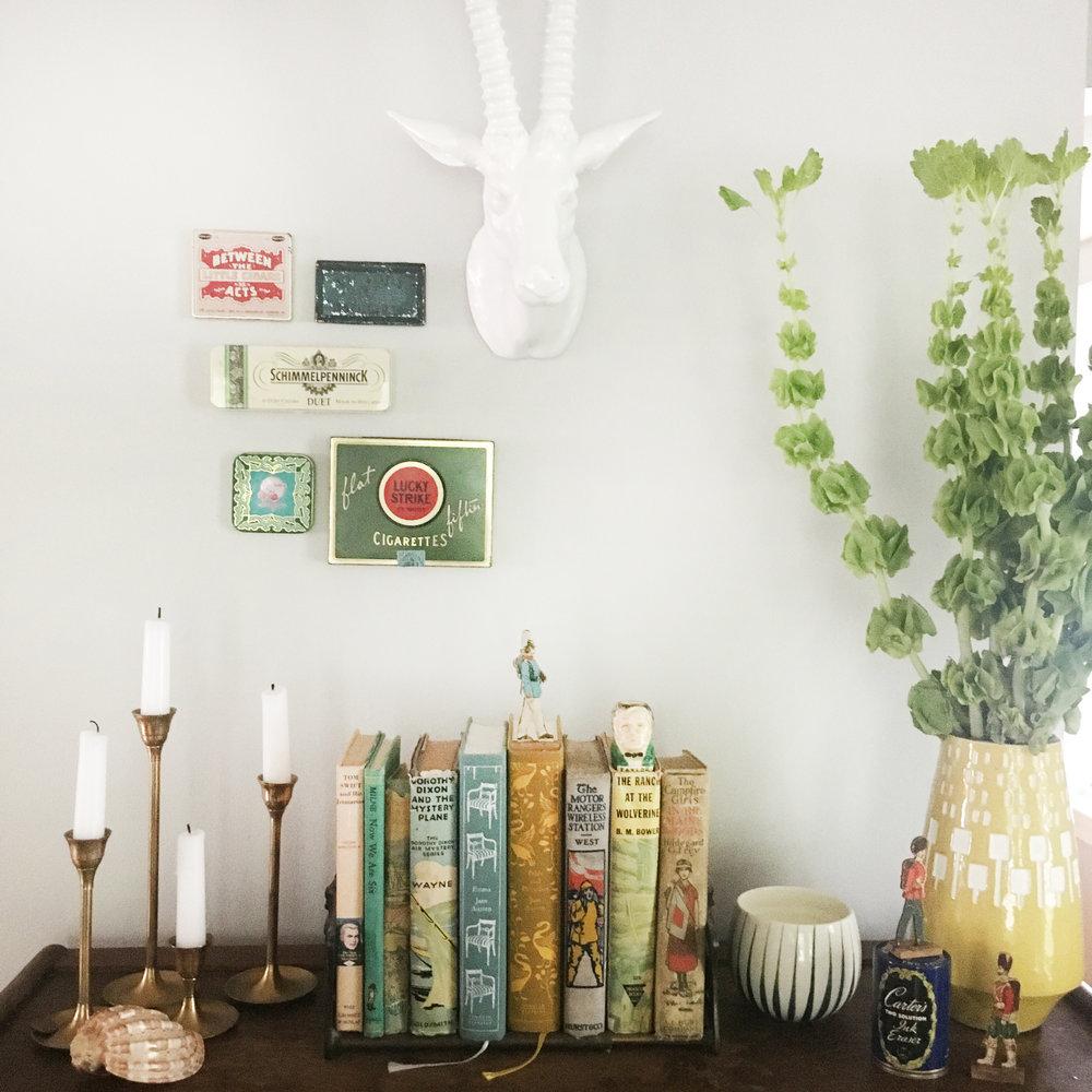 """Zandra's Barrister Bookcase """"Mantel"""""""