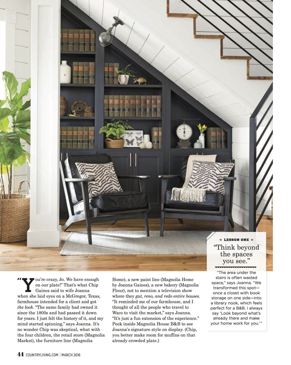 Styling by Becki Griffin, Photograph by Buff Strickland for Country Living Magazine