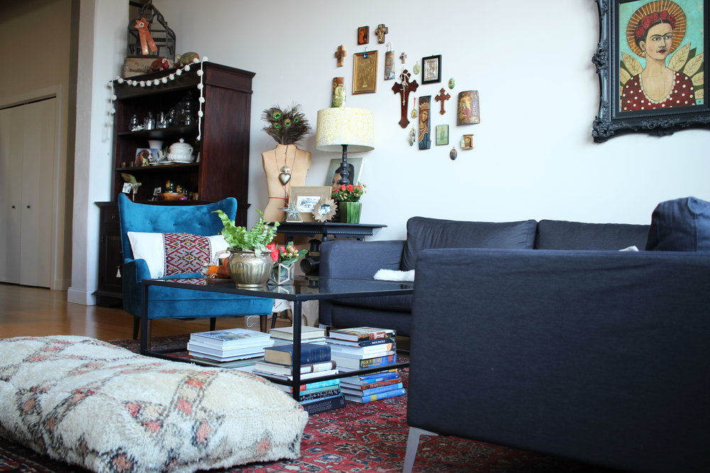 Karen's Living Room : Frida by Jane Spakowsky