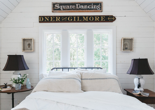 From the book, City Farmhouse Style , Singer/Songwriter Sheryl Crow's Writers Loft, Photo: Alissa Saylor