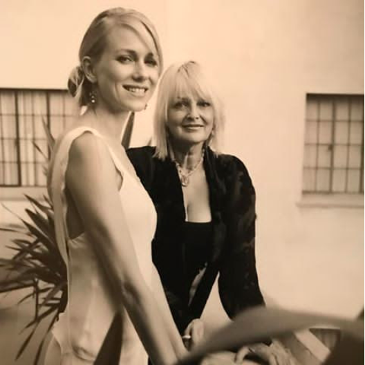 Miv Watts with daughter, Naomi Watts