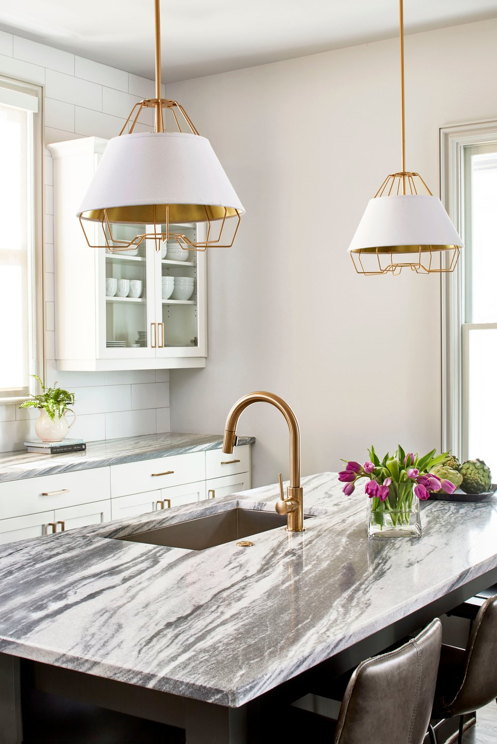 Pearl Grey Marble, Hedgewood Homes