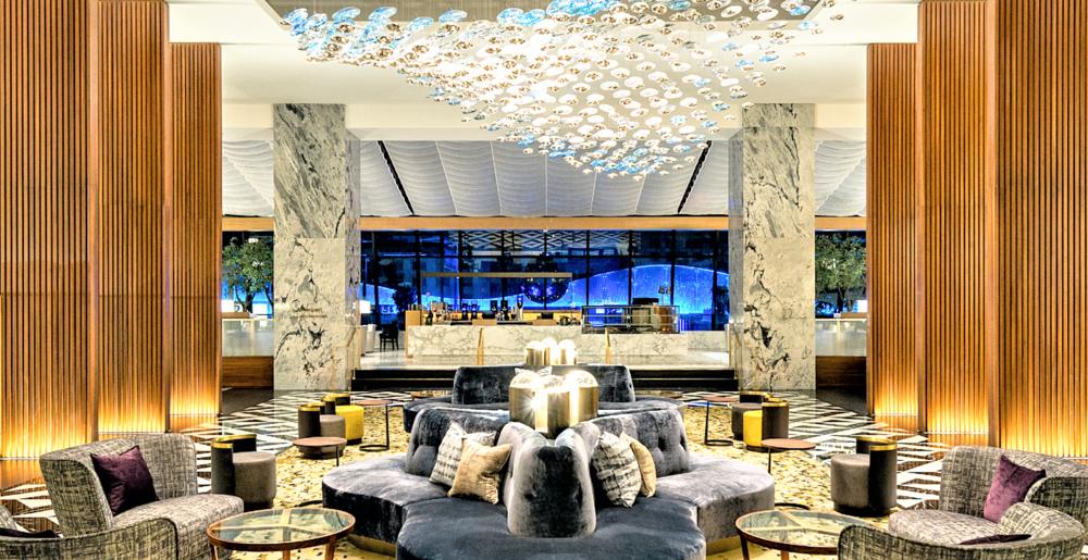 Pearl Grey Marble: Ritz Carlton, Chicago