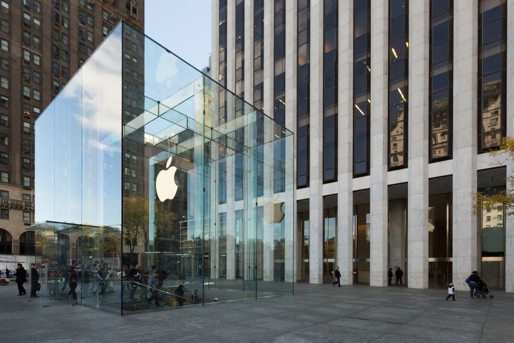 White Cherokee Marble: GM Building, New York
