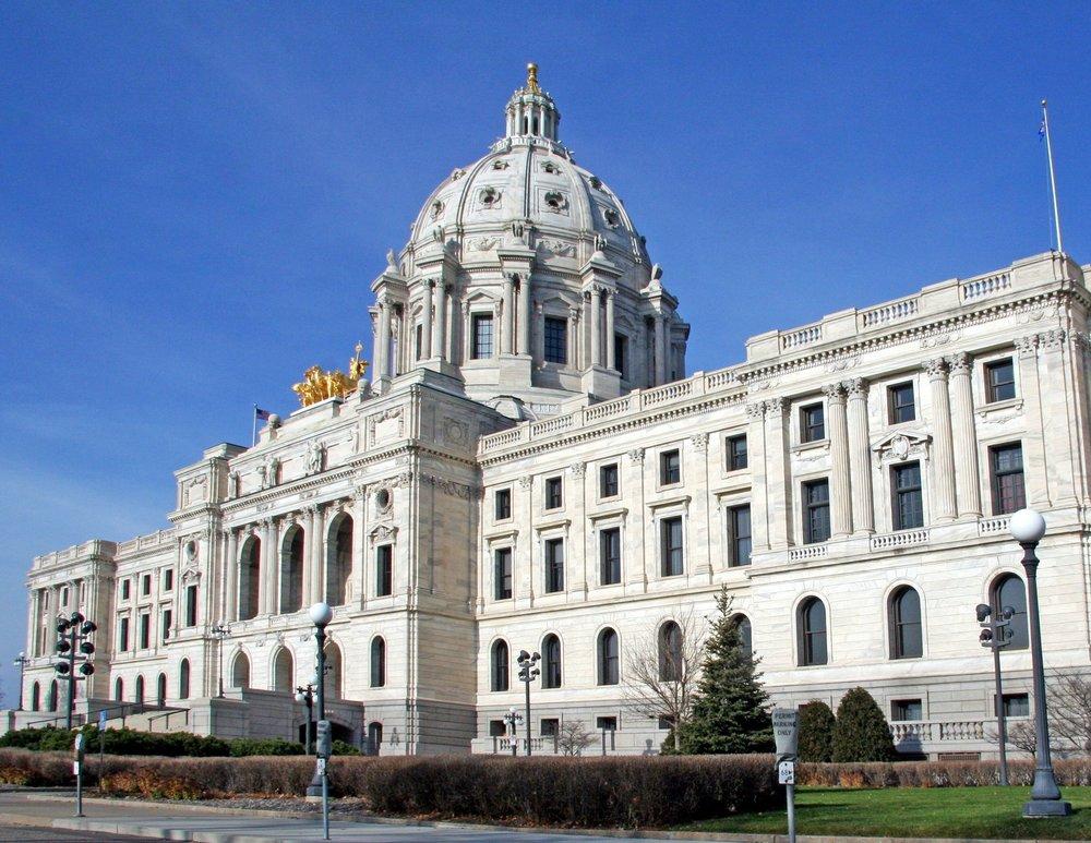 White Cherokee Marble: Minnesota State Capital