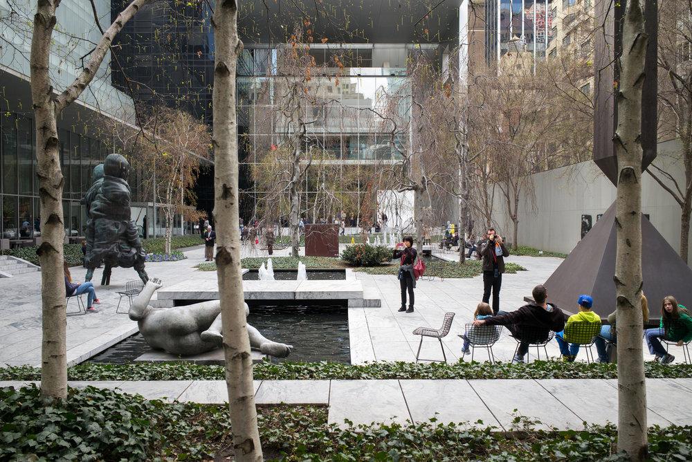 MOMA Sculpture Garden, NYC