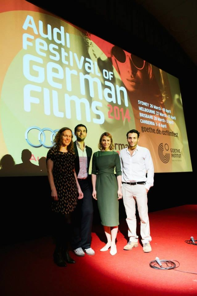 Festival Guests: Director Constanze Knoche, screenwriter Leis Bagdach, actress Nadeshda Brennicke, actor Angus McGruther  © Wesley Nel 2014