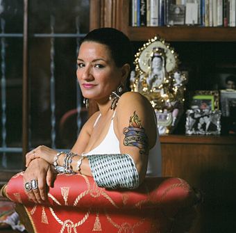 Ms. Cisneros - woman, poet, chingona.