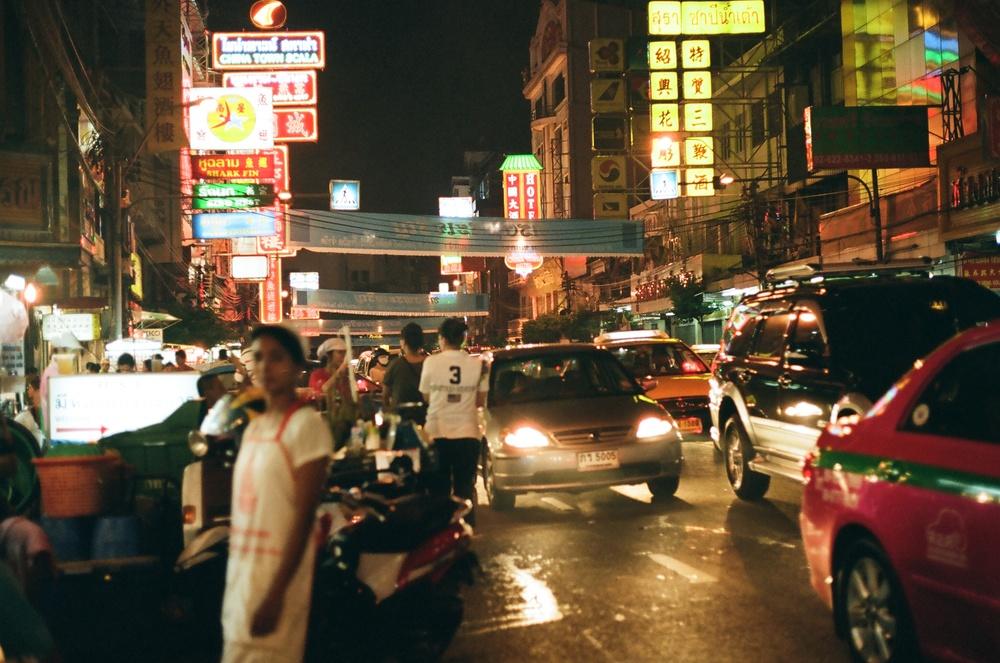 Chinatown Bangkok (on a weeknight).
