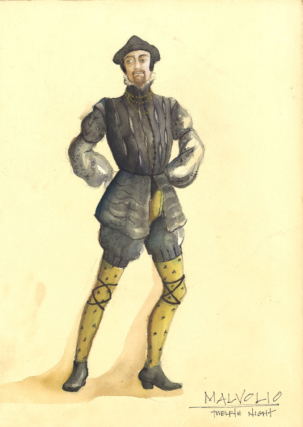 Malvolio's Yellow Stockings