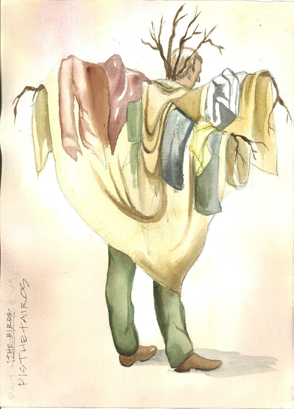 Pisthetairos as a Bird