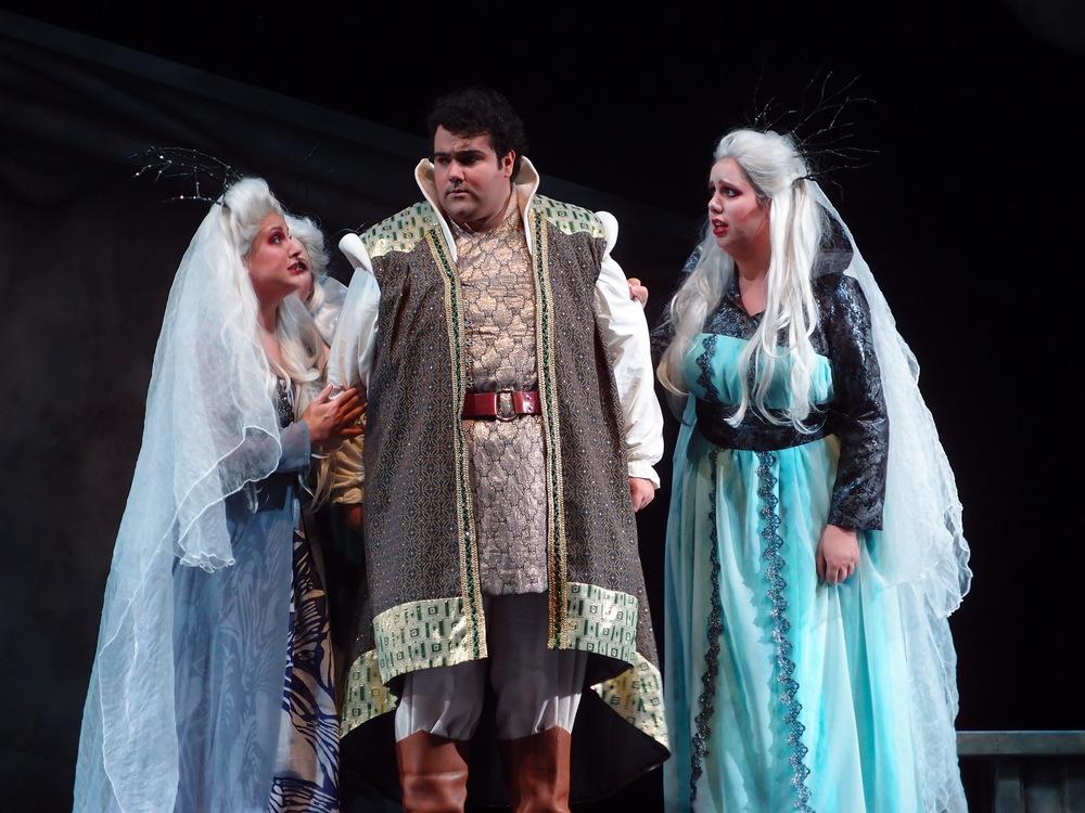 Tamino and the Three Ladies