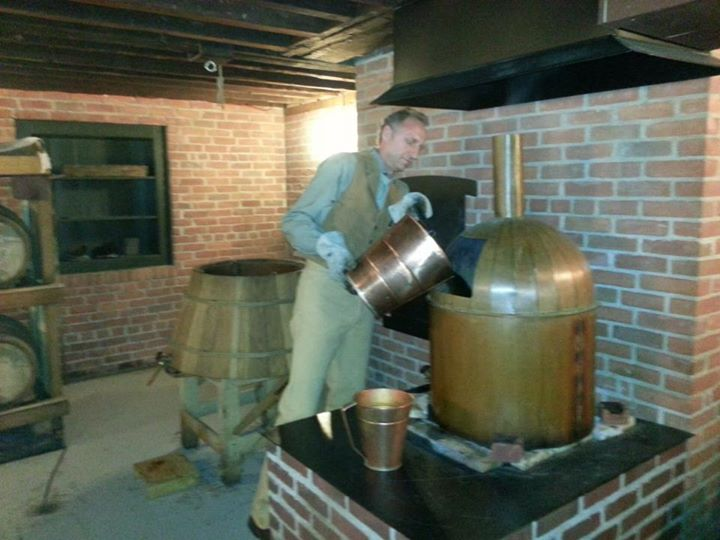 Just my dad, brewing up some cool pion-beer ... get it? You can use that, BCPV.