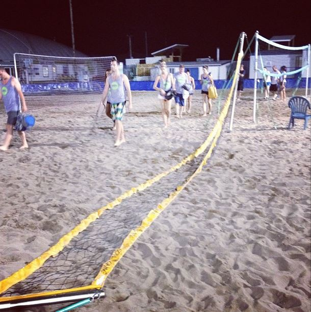 No net stands a chance against Spike Club