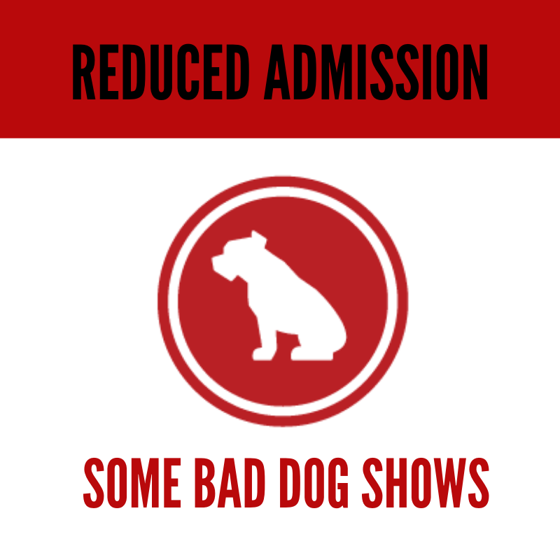 THEATRESPORTS (Saturdays at 8 PM)  Bad Dog's flagship show mixes the thrill of improv with the energy of a sporting event, putting you in the middle of the side-splitting scenes.   THE RAT KING (various dates)    ONE OF US IS A KILLER (first Monday of the month at 9:30 PM)    BEER LEAGUE (various dates)