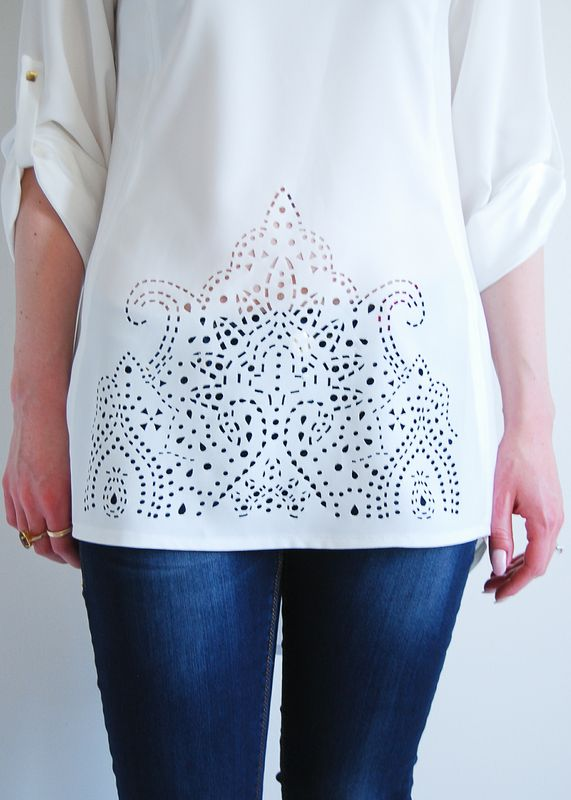 Moroccan Tendencies in White  // $62
